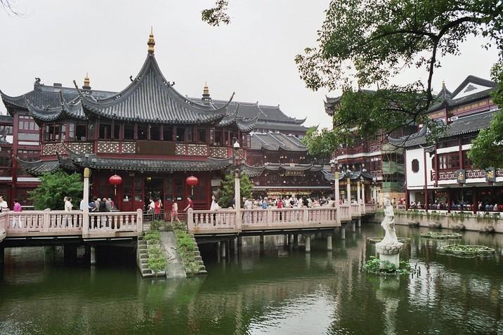 Shanghai jardin du mandarin yu for Jardin yu shanghai